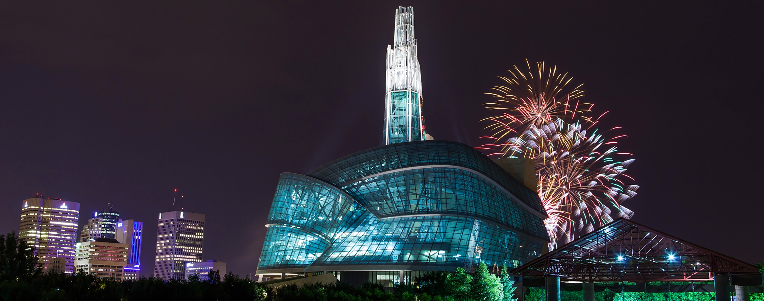 Fireworks Display at CMHR